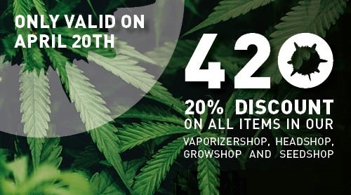 Happy 420! Celebrate this day with 20% discount, massages, a cannabis picnic and top 10 stoner albums